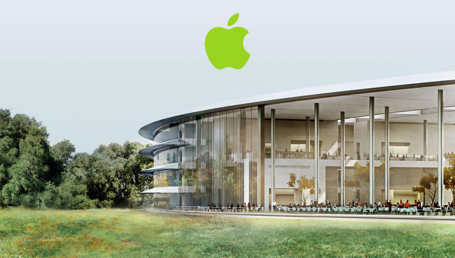 Instalações da Apple agora apenas funcionam com energia renovável