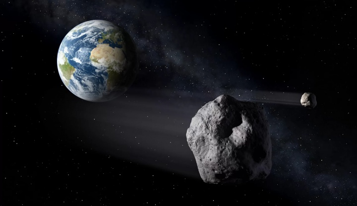 Asteroide que se aproxima da Terra
