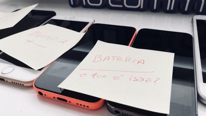 baterias dos iphones