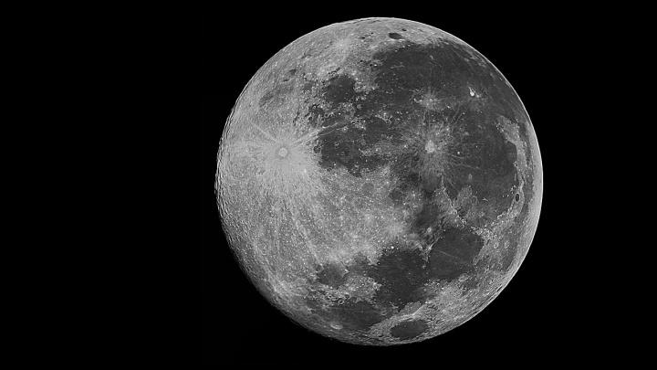 Imagem 4K da Lua feita pela NASA