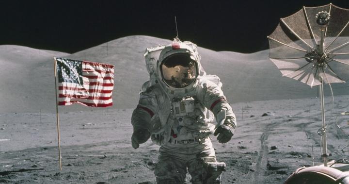 Imagem Apollo na Lua