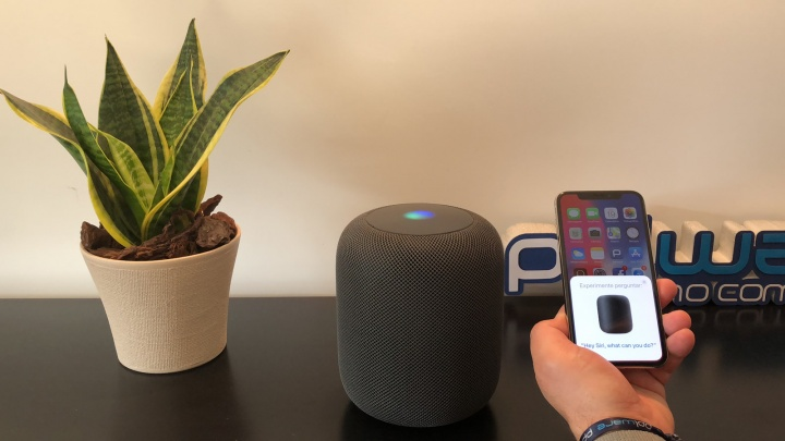 Siri no HomePod da Apple e no iPhone X