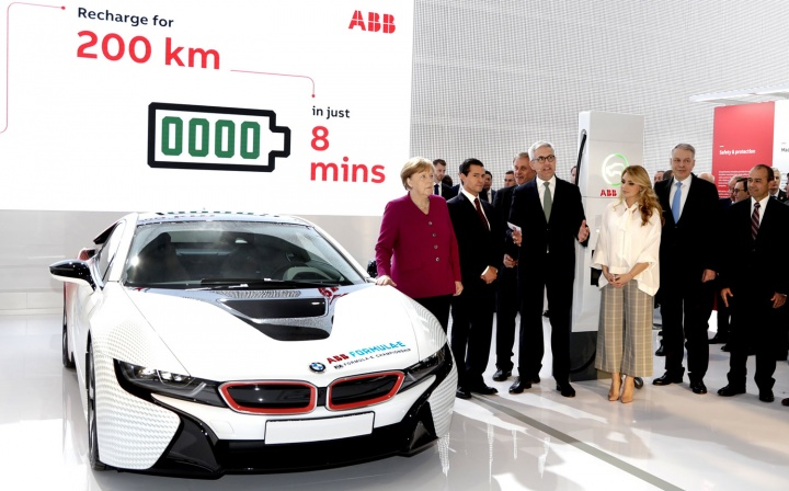 Carregamento de veículos elétricos mais rápido do mundo