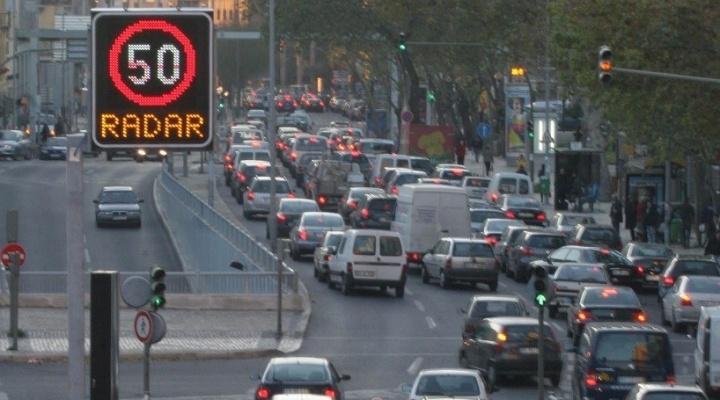 Lisboa com mais radares e 120 câmaras de vigilância nos semáforos