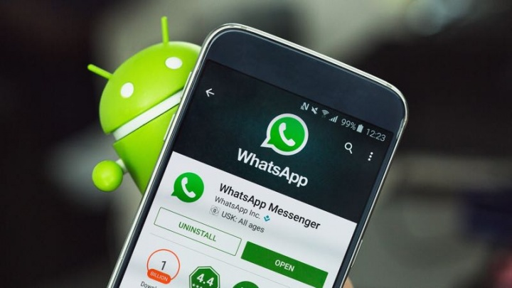WhatsApp mensagem encaminhada alertar