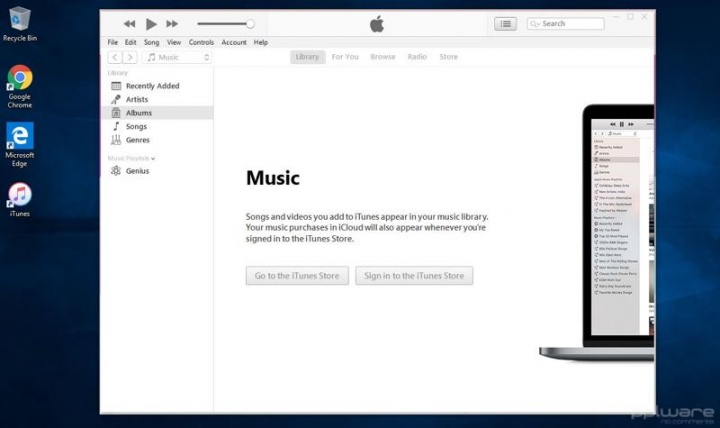Windows 10 S Microsoft iTunes app