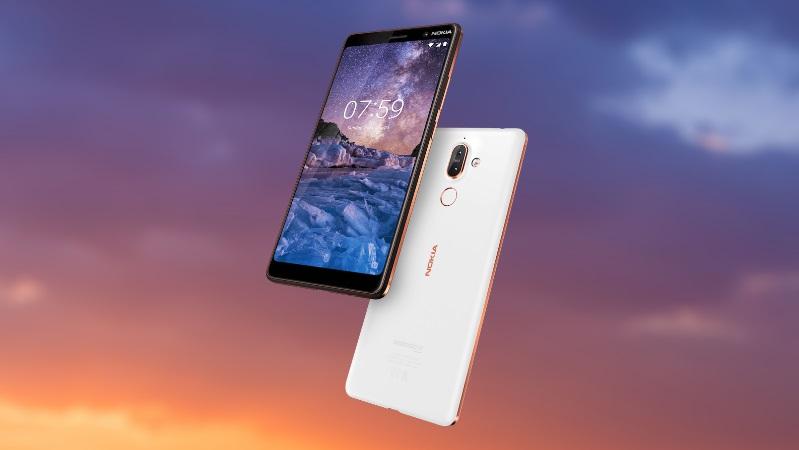 ed4505e2a O Nokia 7 Plus é um smartphone integrado no programa Android One da Google