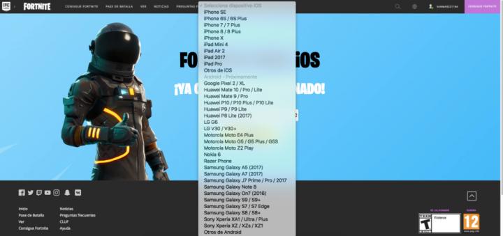 Vai poder jogar Fortnite no seu Android? Veja se está na lista