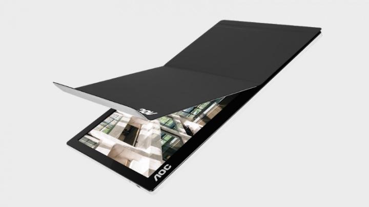 AOC lança novo monitor portátil com ligação USB-C
