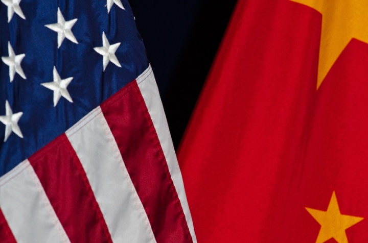 estados unidos china bandeira