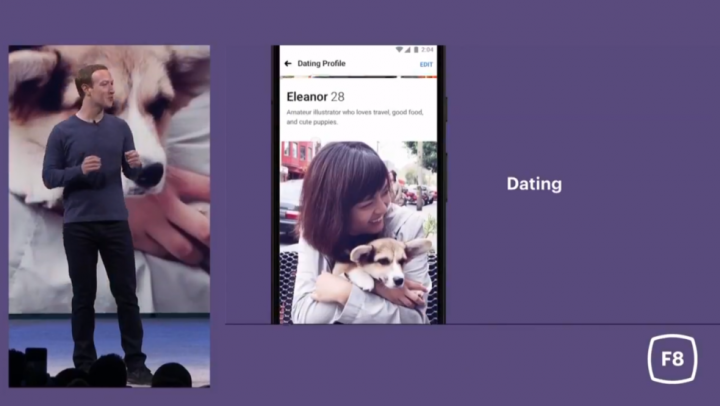 facebook dating - concorrente tinder