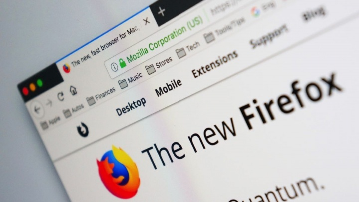 Firefox pornografia filtro página inicial browsers