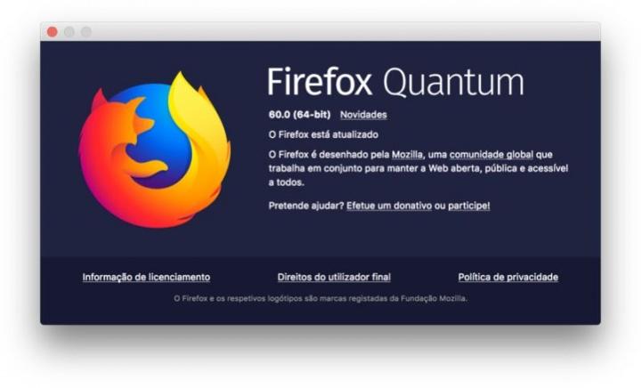 Firefox 60 browser Mozilla
