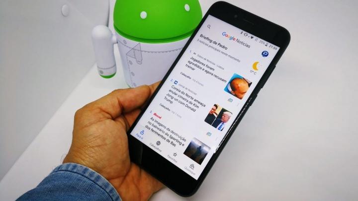 Google Notícias Android