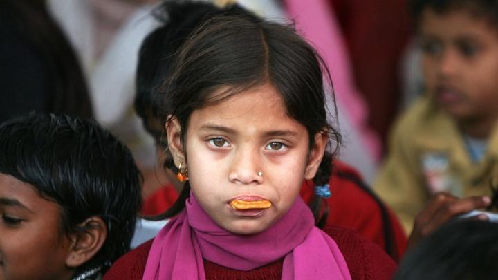 Crianças perdidas descobertas pelo reconhecimento facial