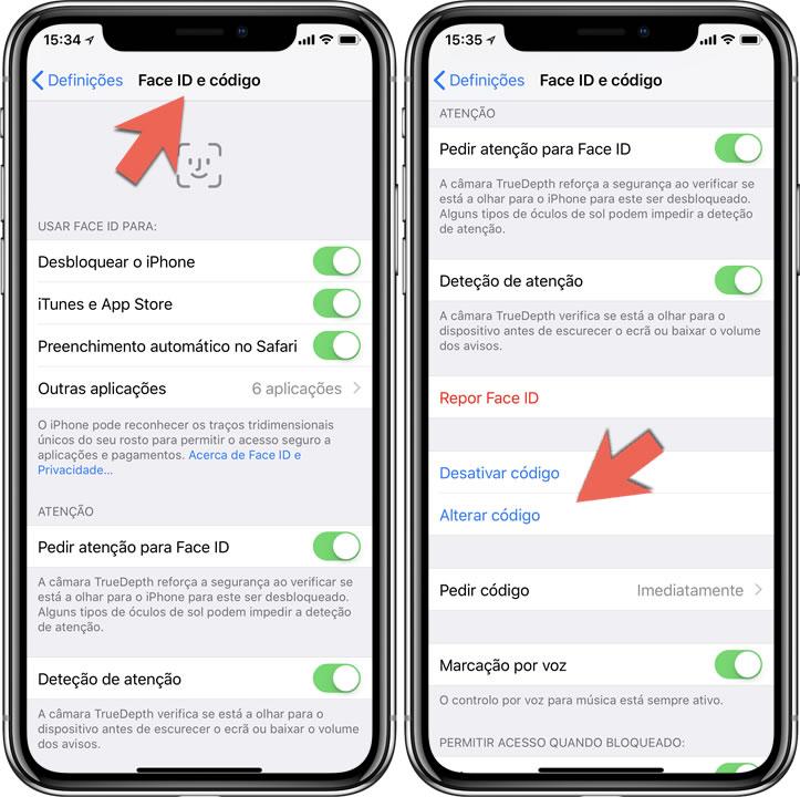 2e464c955af Aquando a configuração inicial do iPhone, é-lhe solicitado que coloque um  código de desbloqueio. Este código será o primeiro bastião de segurança  para os ...