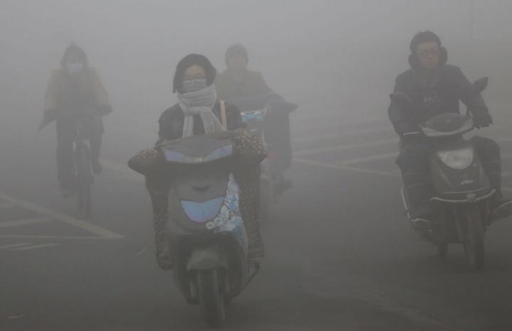 Recorde de CO2 na atmosfera
