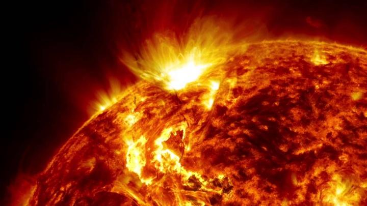 Imagem ilustrativa do Sol a morrer