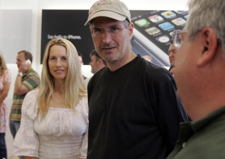 Laurene Powell Jobs e Steve Jobs