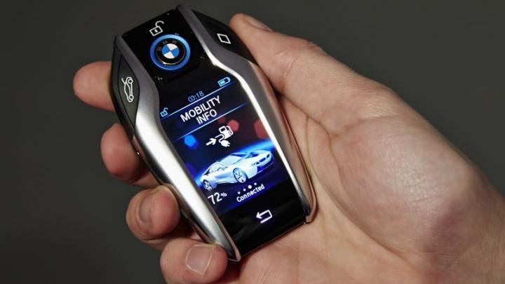 smartphone carro chave