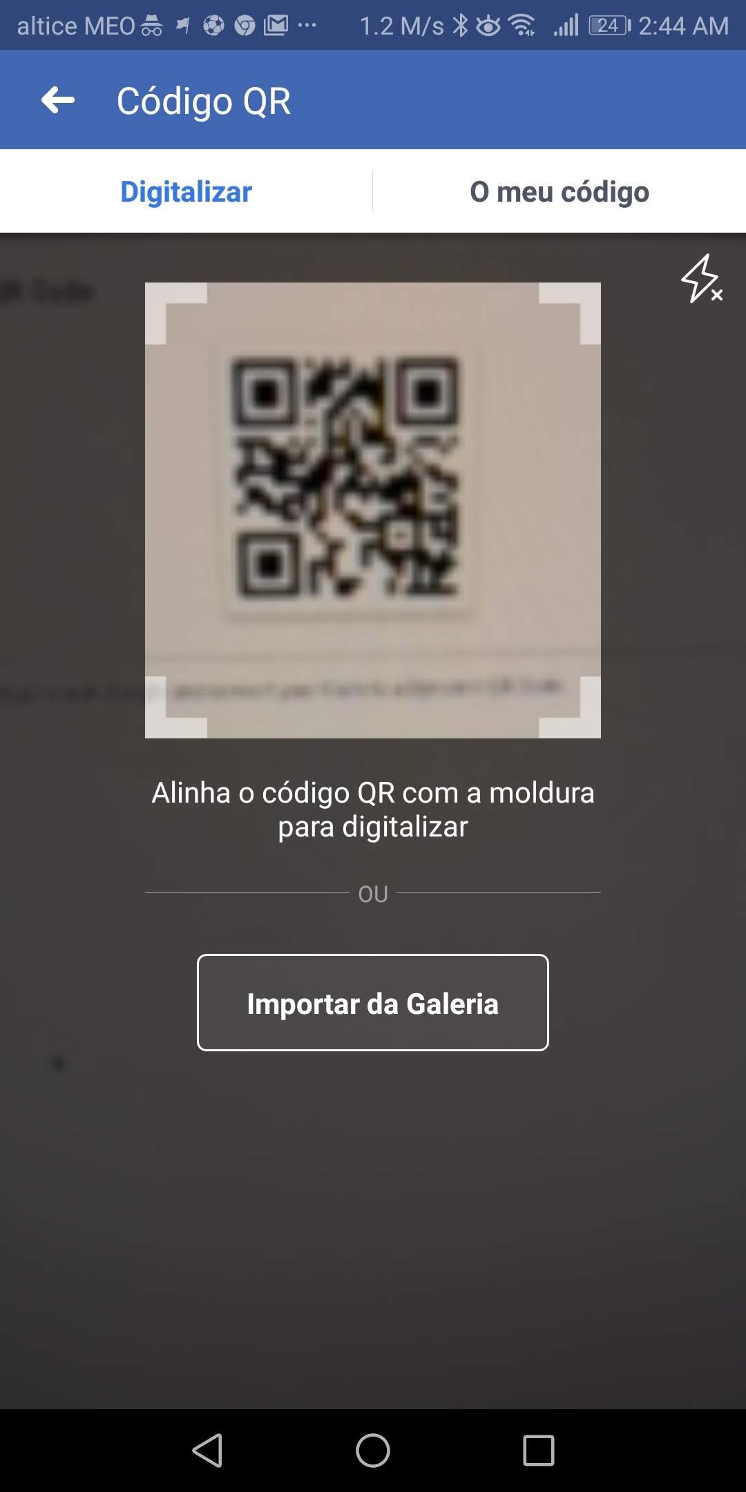 Quer ler um código QR no Android? Use as apps que já tem