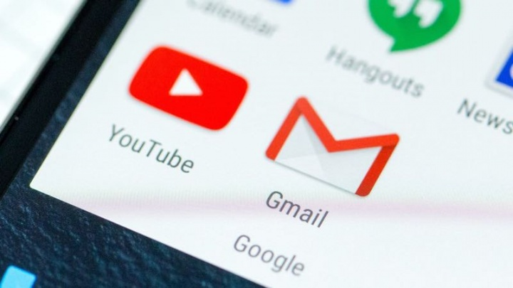 Android Gmail gestos