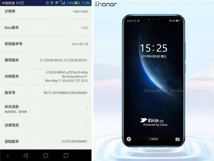 kirin os - huawei alternativa android