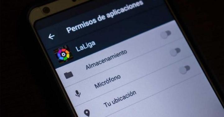 La Liga Android espiar utilizadores
