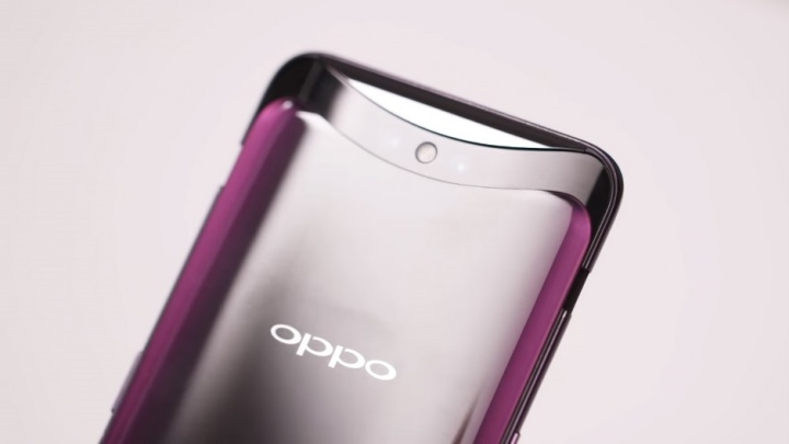 oppo find x - sistema pop-up