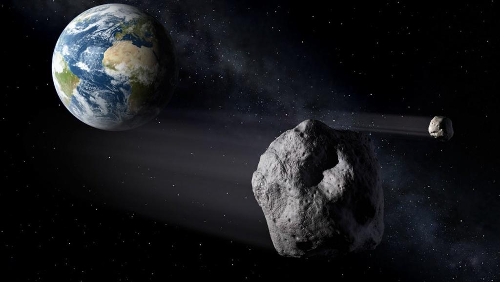 Asteroide desintegra-se na atmosfera da Terra pouco depois de ser detetado
