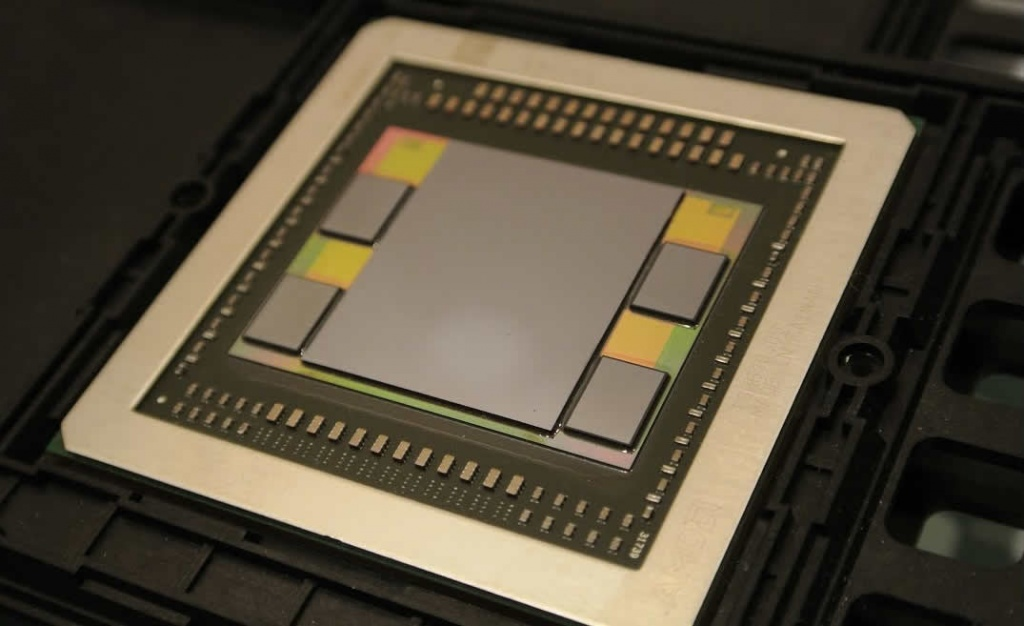 Imagem chip EPYC (Ryzen) de 7 nm