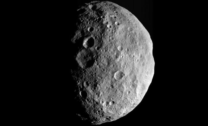 Imagem do asteroide Vesta