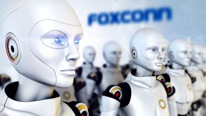 Robôs da Foxconn