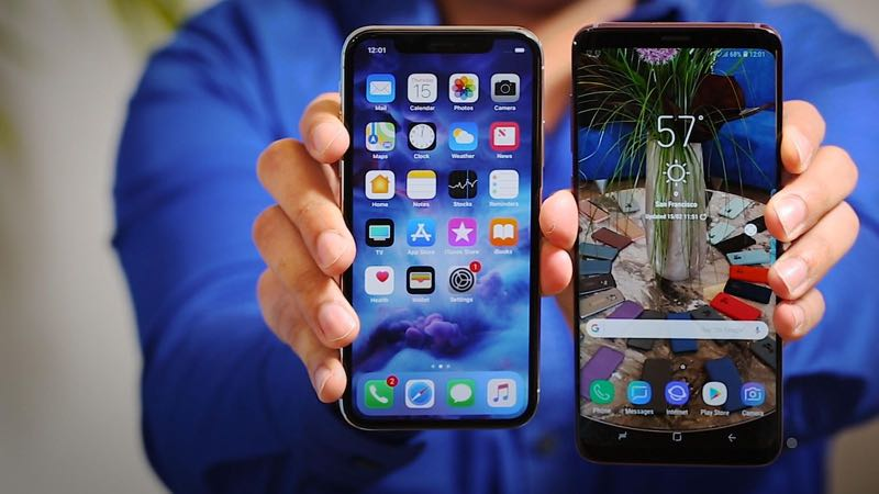7cf38b842 O Galaxy S9 e o S9 Plus já vendem mais que o iPhone X