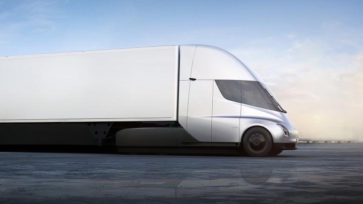 Camião Tesla Semi já rola na Golden Gate da Califórnia