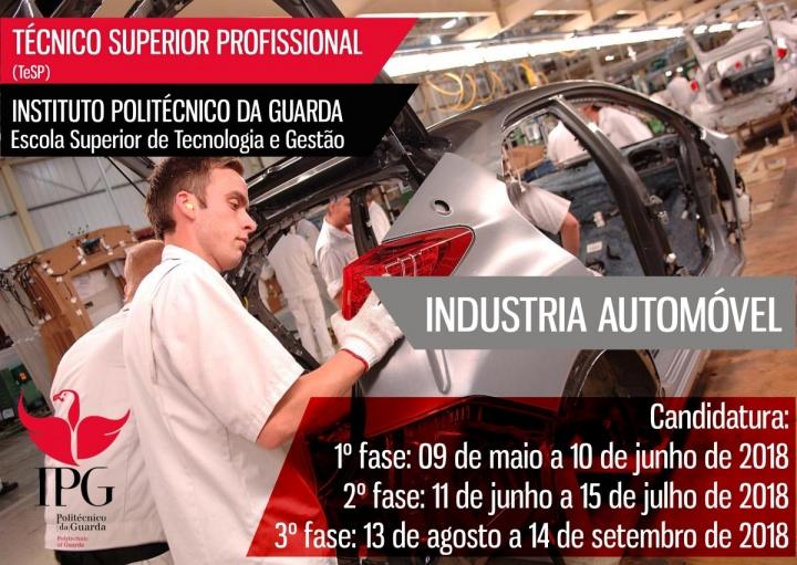 IPGuarda abre novo curso de Técnico Superior Profissional em Indústria Automóvel