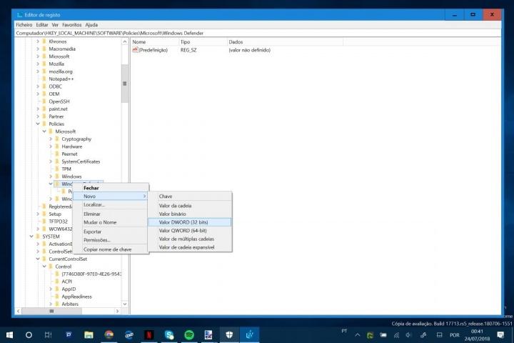 Windows Defender Windows 10 Microsoft antivírus