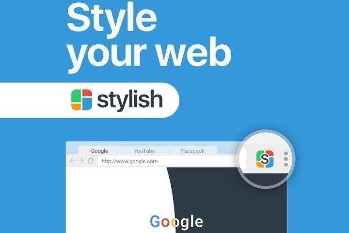 Firefox Chrome Stylish browser extensão