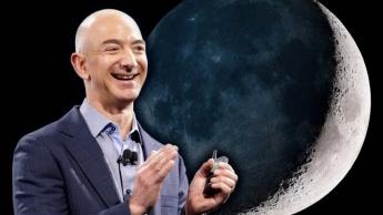 Jeff Bezos, fundador da Blue Origin