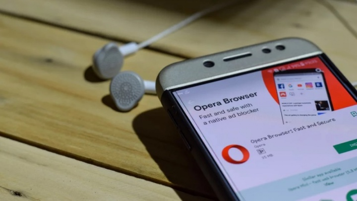 Opera Android browser carteira criptomoedas