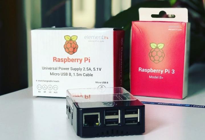 Pack económico Raspberry PI 3 Model B+ já com o novo