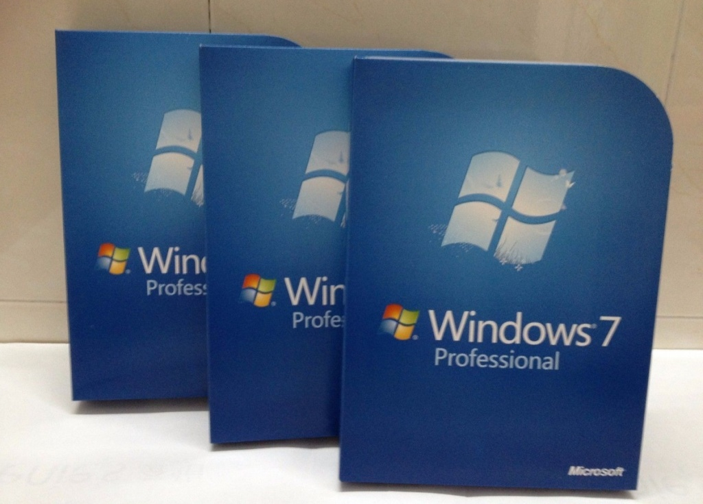 Caixas do Windows 7