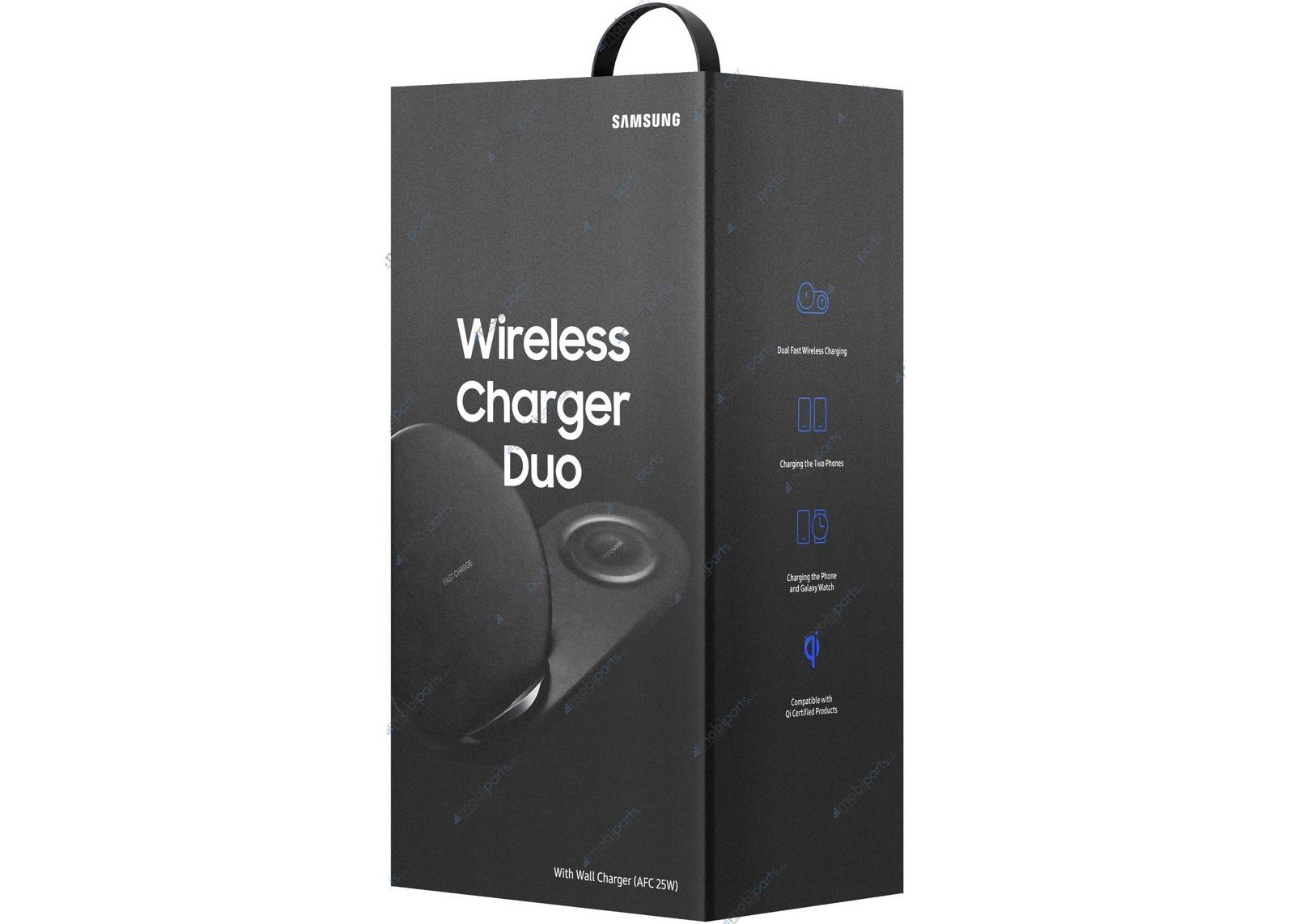 Carregador sem fios duplo Qi Samsung Wireless Charger Duo