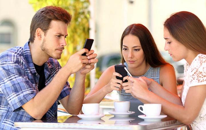 Smartphones vicio