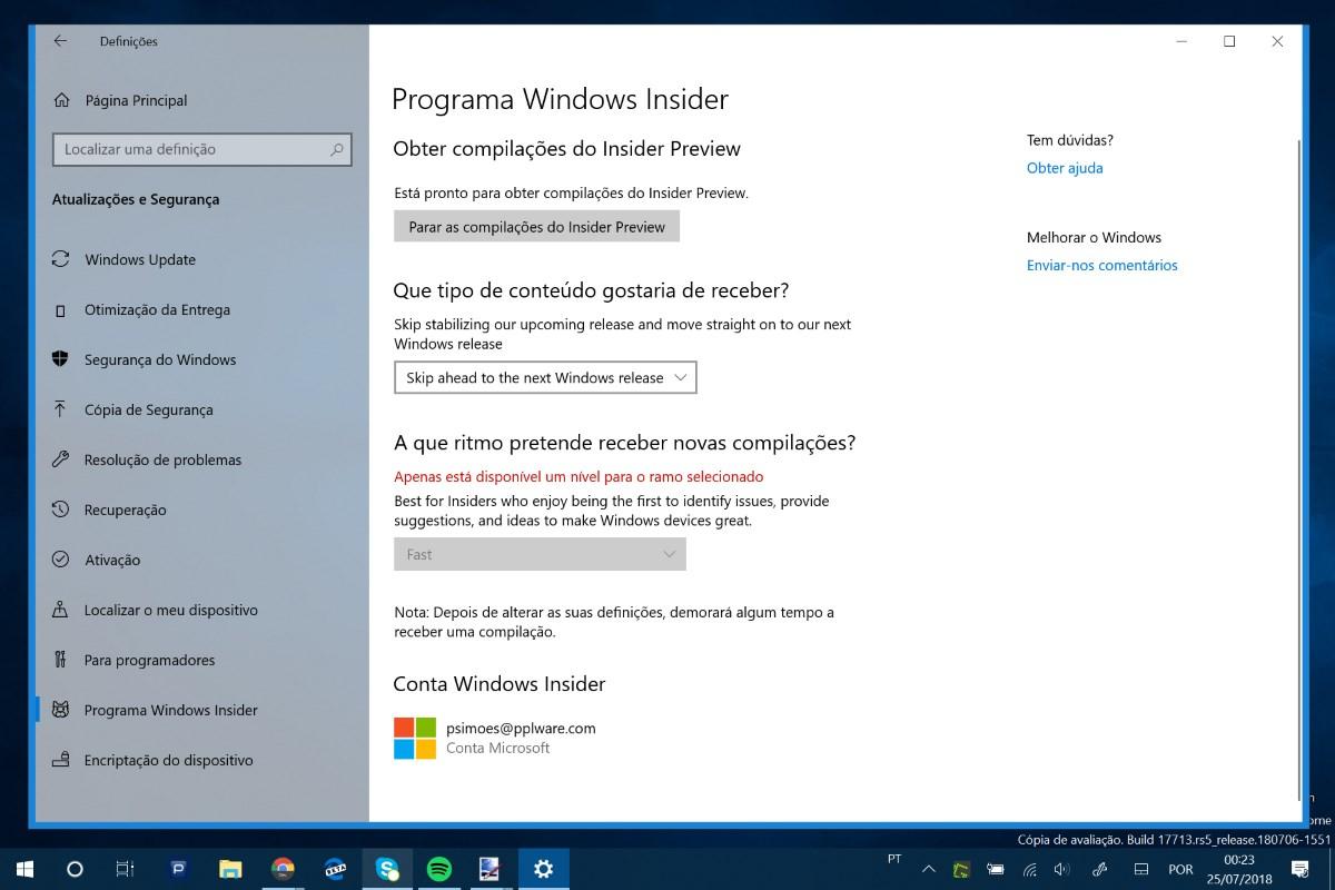 Quer testar a Redstone 6, a próxima grande versão do Windows 10?