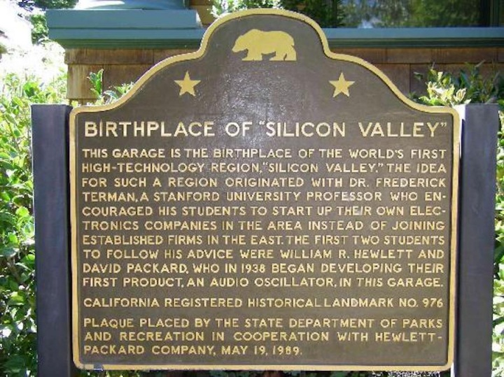 Historia Silicon Valley