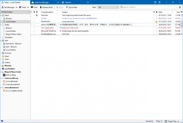 Thunderbird 60: Será preciso ter o Microsoft Outlook instalado?