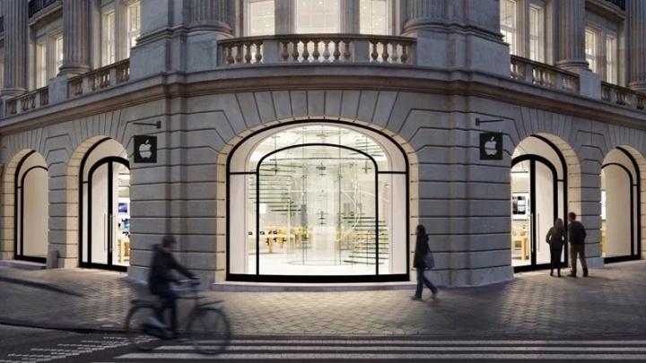 Apple Amsterdão loja iPad explosão