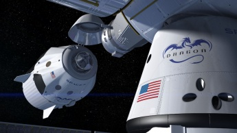 SpaceX Dragon capsula NASA