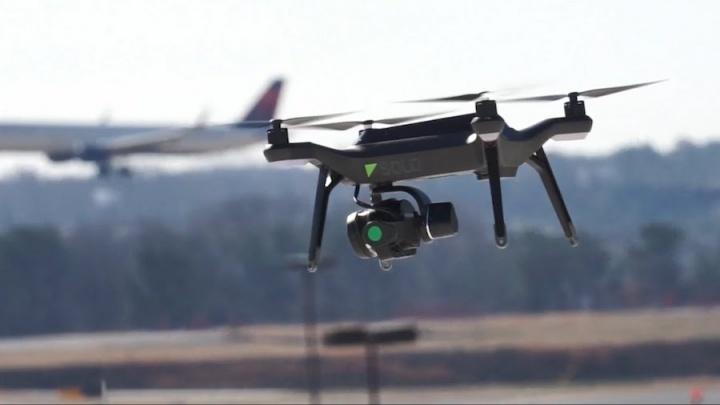 drone aeroporto de lisboa